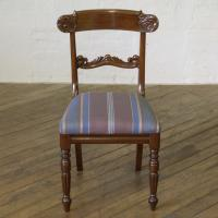 Set of 6 William IV Mahogany Chairs c.1835 (5 of 8)