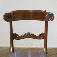 Set of 6 William IV Mahogany Chairs c.1835 (6 of 8)