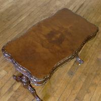 Victorian Walnut Table c.1860 (5 of 9)