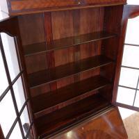 Mahogany Bureau Bookcase (11 of 14)