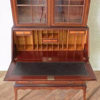 Mahogany Bureau Bookcase (10 of 14)