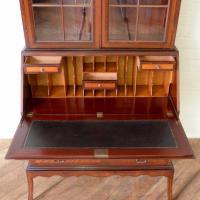 Mahogany Bureau Bookcase (9 of 14)