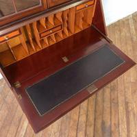 Mahogany Bureau Bookcase (14 of 14)