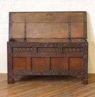 17th Century Oak Coffer (9 of 10)