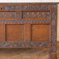 17th Century Oak Coffer (7 of 10)