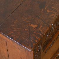 17th Century Oak Coffer (5 of 10)