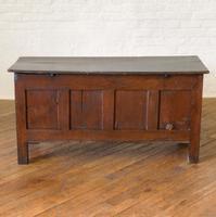 17th Century Oak Coffer (3 of 10)
