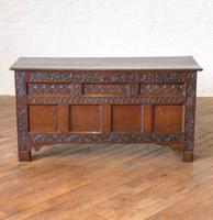 17th Century Oak Coffer (6 of 10)