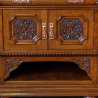 Victorian Pollard Oak Sideboard (21 of 22)