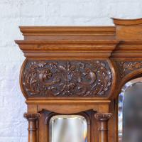 Victorian Pollard Oak Sideboard (8 of 22)