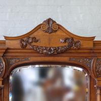 Victorian Pollard Oak Sideboard (9 of 22)