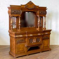 Victorian Pollard Oak Sideboard (10 of 22)