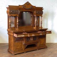 Victorian Pollard Oak Sideboard (11 of 22)