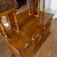 Victorian Pollard Oak Sideboard (13 of 22)