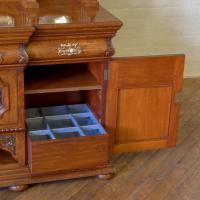 Victorian Pollard Oak Sideboard (16 of 22)
