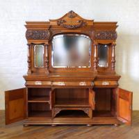Victorian Pollard Oak Sideboard (22 of 22)