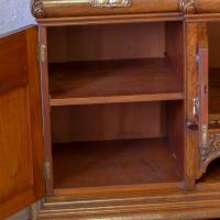 Victorian Pollard Oak Sideboard (3 of 22)