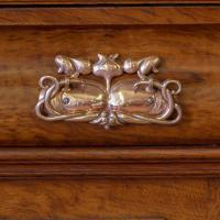 Victorian Pollard Oak Sideboard (7 of 22)