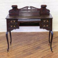 Edwardian Mahogany Ladies Writing Desk (10 of 15)