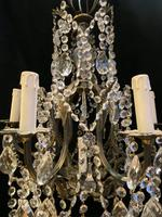 Seven Light French Antique Cage Chandelier (9 of 19)