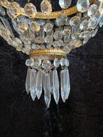 A French Small Bag Antique Chandelier (9 of 12)