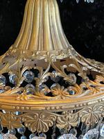 One Light French Antique Bag Chandelier (4 of 12)