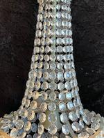 Silver Framed French Antique Empire Chandelier (5 of 12)