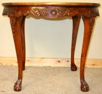 Carved Mahogany Circular Centre Table C.1930 (7 of 7)