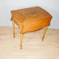 Satinwood Pembroke Table c.1930 (3 of 12)