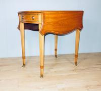 Satinwood Pembroke Table c.1930 (2 of 12)