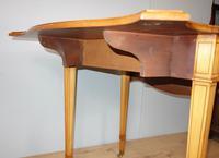Satinwood Pembroke Table c.1930 (7 of 12)
