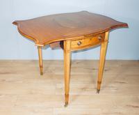 Satinwood Pembroke Table c.1930 (10 of 12)