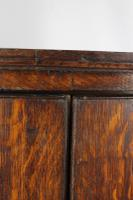 Antique Georgian Oak Bow Front Corner Cupboard (11 of 13)