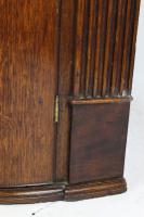 Antique Georgian Oak Bow Front Corner Cupboard (13 of 13)