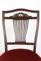 Antique Edwardian Mahogany Dressing Table Chair (6 of 12)