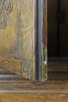 Edwardian Oak Cabinet in 17th Century Style c.1910 (11 of 13)