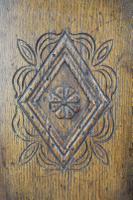 Edwardian Oak Cabinet in 17th Century Style c.1910 (12 of 13)