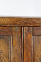 Edwardian Oak Cabinet in 17th Century Style c.1910 (2 of 13)