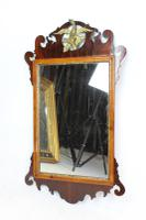 Antique Chippendale Mahogany Fretwork Mirror (2 of 13)