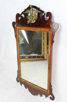 Antique Chippendale Mahogany Fretwork Mirror (3 of 13)