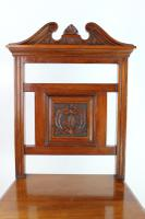 Late Victorian Walnut Hall Chair (5 of 13)