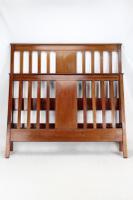 Edwardian Mahogany & Inlaid Double Bed (2 of 13)