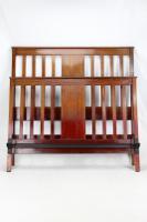 Edwardian Mahogany & Inlaid Double Bed (12 of 13)