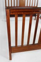 Edwardian Mahogany & Inlaid Double Bed (4 of 13)
