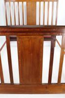 Edwardian Mahogany & Inlaid Double Bed (5 of 13)