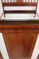 Edwardian Mahogany & Inlaid Double Bed (6 of 13)