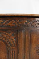 Small Carved Oak Coffer / Blanket Chest c.1920 (11 of 14)