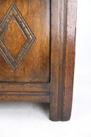 Small Carved Oak Coffer / Blanket Chest c.1920 (12 of 14)