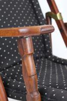 Edwardian Folding Steamer Chair / Campaign Chair (7 of 13)