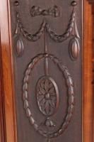 Large Victorian Carved Mahogany Overmantle Mirror (6 of 13)